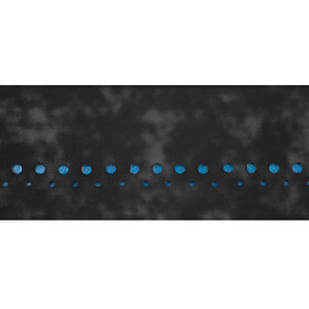 Bontrager Velvetack Handlebar Tape black/waterloo blue